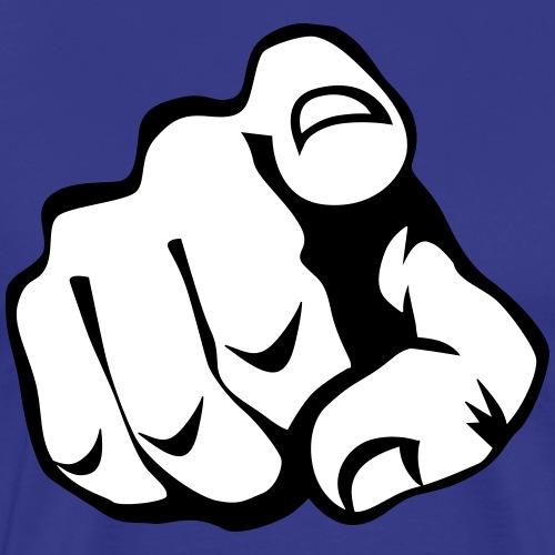 60 Zeigefinger - Männer Premium T-Shirt