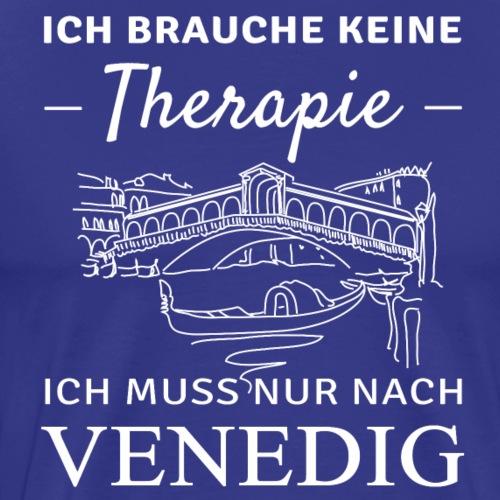 Venedig Therapie - Männer Premium T-Shirt