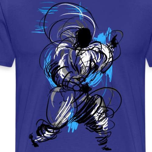 Kung Fu wizard - Men's Premium T-Shirt