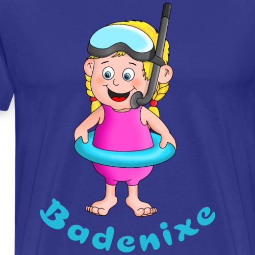 Badenixe - Schwimmerin - Männer Premium T-Shirt