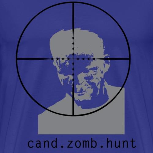 cand zomb hunt - Herre premium T-shirt