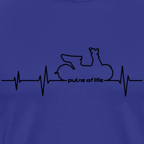 Simson SR50 SR80 EKG - Pulse of Life - Men's Premium T-Shirt