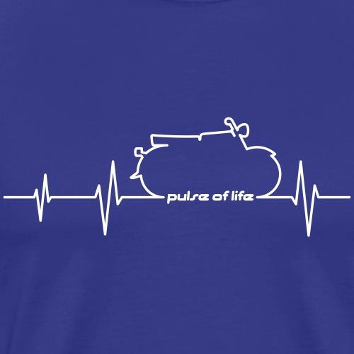 Simson S50 S51 EKG - Pulse of Life - Men's Premium T-Shirt