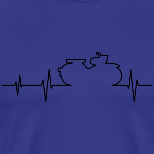 Simson Star EKG - Men's Premium T-Shirt