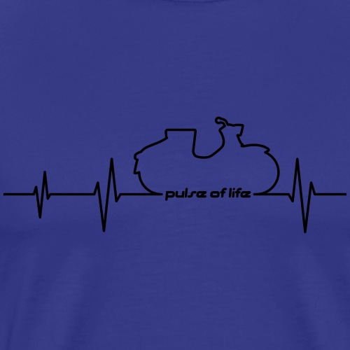 Simson KR50 EKG - Pulse of Life - Men's Premium T-Shirt