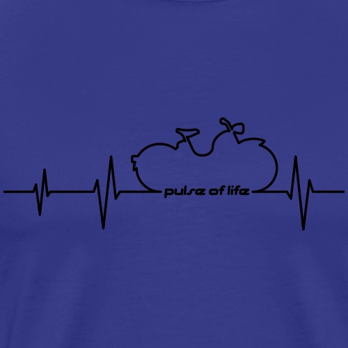 Simson SR1 SR2 EKG - Pulse of Life - Men's Premium T-Shirt