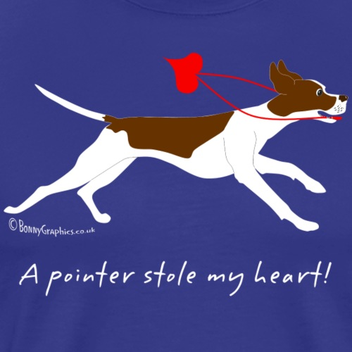 English pointer liver - Men's Premium T-Shirt