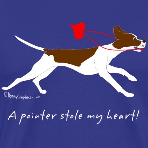 English pointer liver - Men's Premium T-Shirt