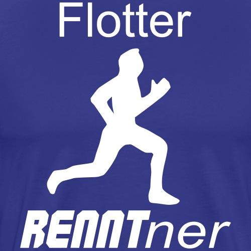 Sportlicher Rentner Ruhestand Geschenk - Männer Premium T-Shirt