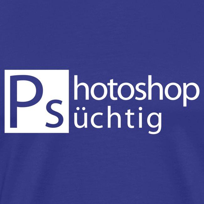 Photoshop süchtig weiss PNG