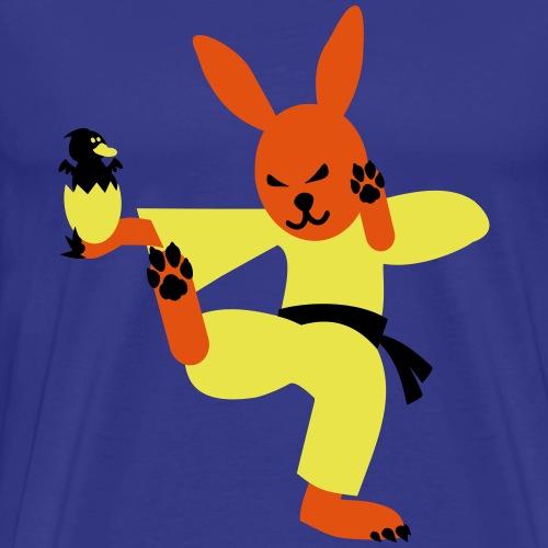 Eastern Bunny Osterhase Martial Arts T Shirt - Männer Premium T-Shirt