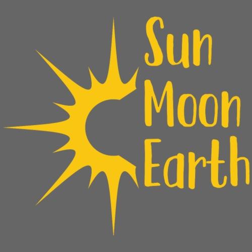 Sonnenfinsternis, Sonne, Geschenk, T-Shirt - Männer Premium T-Shirt