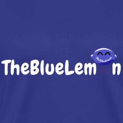 TheBlueLemon writing - Maglietta Premium da uomo