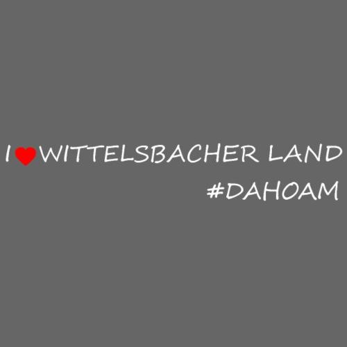 I ❤️ WITTELSBACHER LAND #DAHOAM