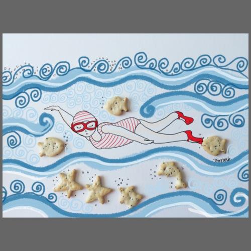 Peixets de mar - Camiseta premium hombre