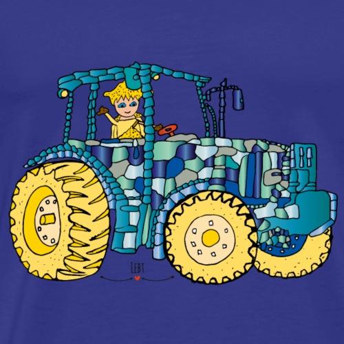 Arena fährt Traktor - Die Hüter von Orbis - Männer Premium T-Shirt