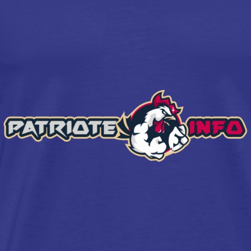 Coq patriote info style 3 - T-shirt Premium Homme