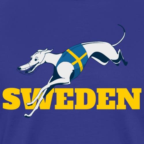 LC SWEDEN YELLOW - Premium-T-shirt herr