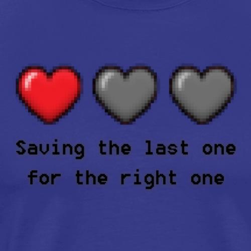 SavingTheLastOne - Herre premium T-shirt