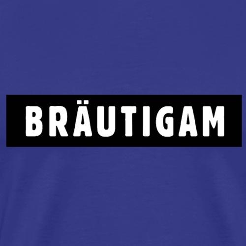 Cooler Bräutigam Polterer JGA Design - Männer Premium T-Shirt
