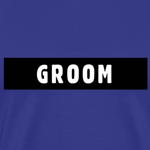 Groom JGA Polterer Design - Männer Premium T-Shirt
