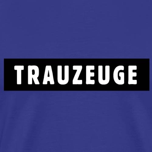 Trauzeuge Design JGA Polterer - Männer Premium T-Shirt