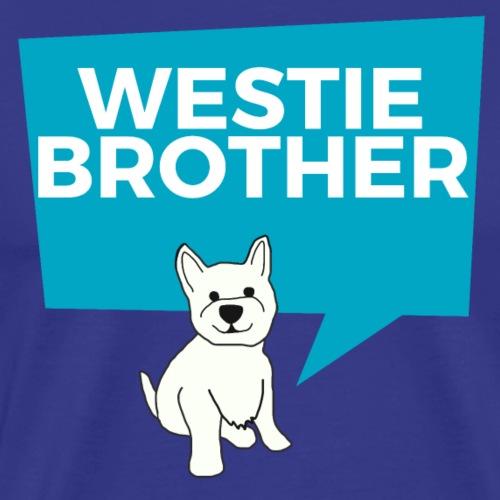 Westie Brother - Men's Premium T-Shirt