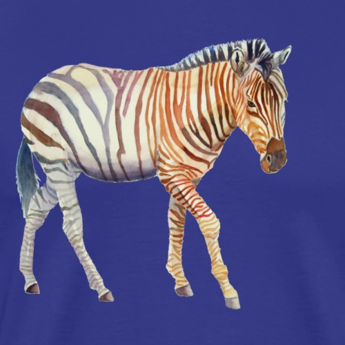 Zebra grants - Herre premium T-shirt