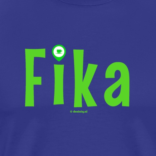 Fika - Mannen Premium T-shirt
