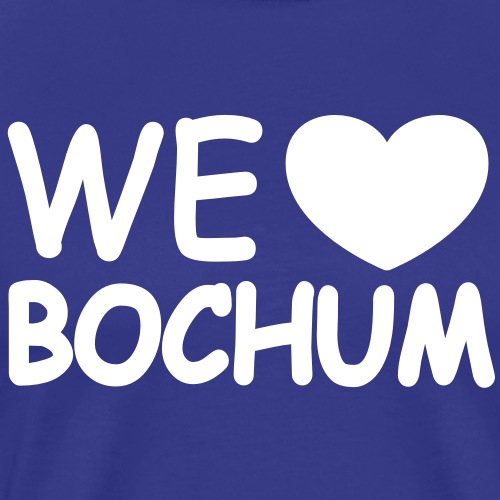 we love bochum - Männer Premium T-Shirt