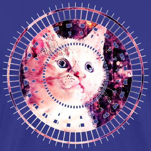 gxp niedlich süße weiße starre Blick Katze WF - Männer Premium T-Shirt