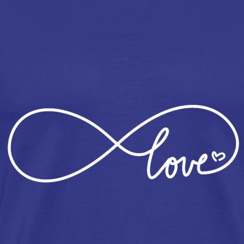 Endless Love Valentinstag - Männer Premium T-Shirt