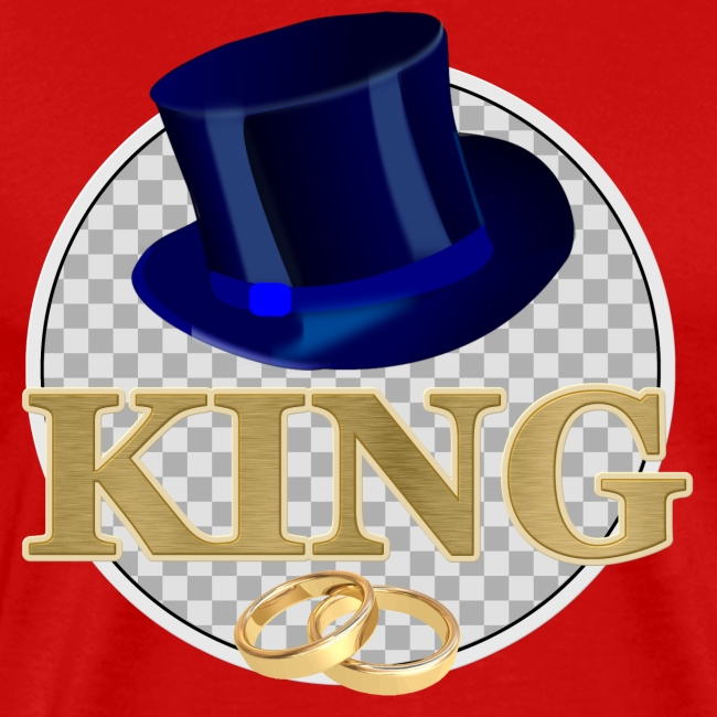 KING mit Hut