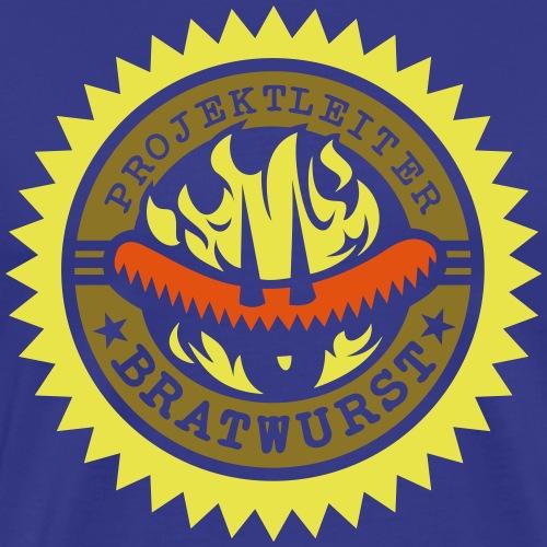 Grill-Shirt Projektleiter Bratwurst - Männer Premium T-Shirt