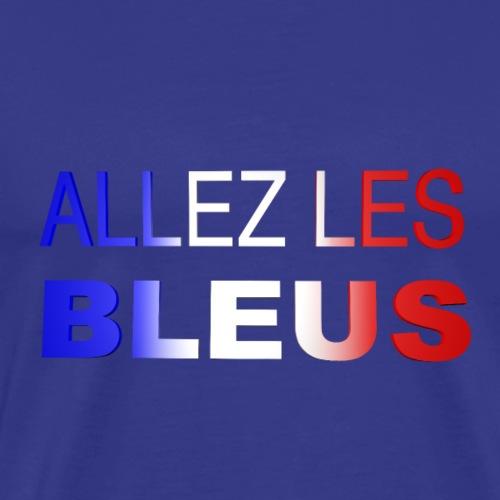 ALLEZ LES BLEUS - T-shirt Premium Homme