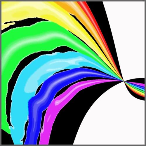 Arcobaleno pop - Maglietta Premium da uomo