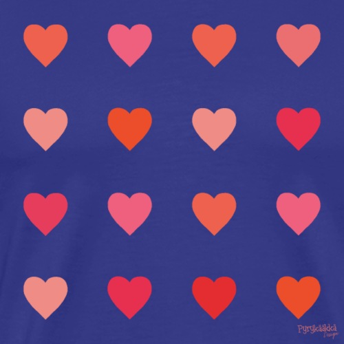 Love - Miesten premium t-paita