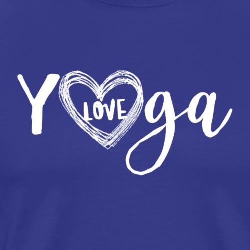 Yoga love - Männer Premium T-Shirt