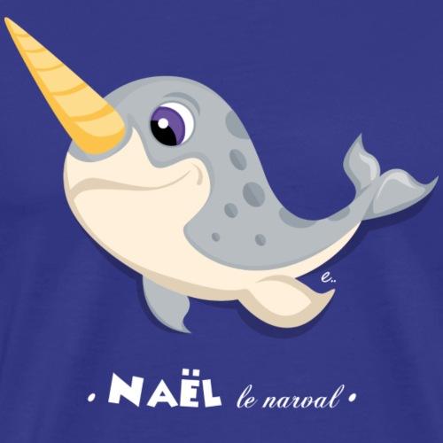 Naël le narval - T-shirt Premium Homme