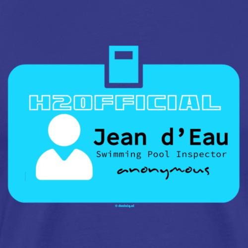 Jean d'Eau - Mannen Premium T-shirt