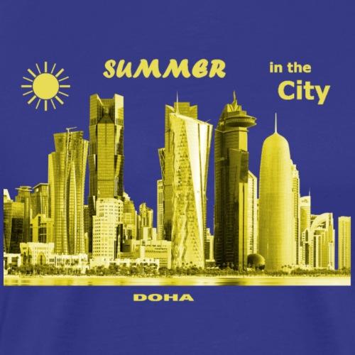 Summer City Doha Katar Qatar holidays - Männer Premium T-Shirt