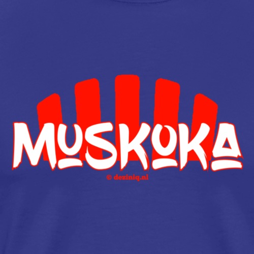Muskoka - Mannen Premium T-shirt