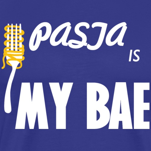 Pasta Shirt Pasta Is My Bae - Mannen Premium T-shirt