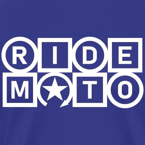 ride moto - Men's Premium T-Shirt