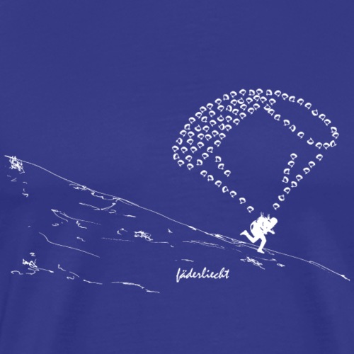 Gleitschirm fdl1 - Männer Premium T-Shirt