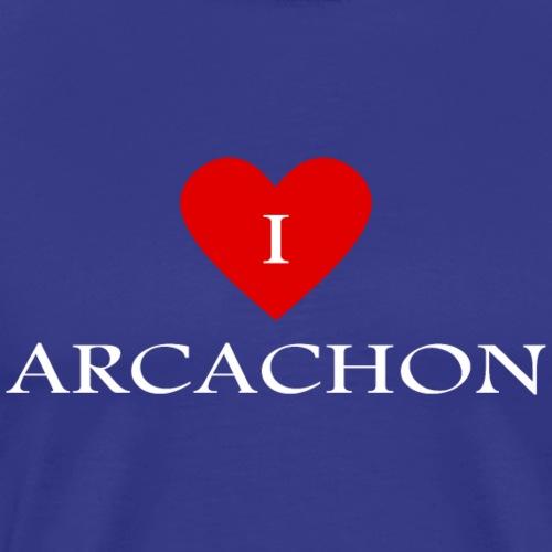 I love Arcachon - Men's Premium T-Shirt
