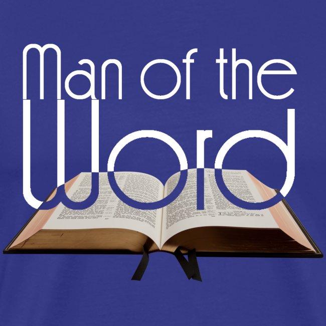man of the Word - Mann des Wortes - der Bibel weiß