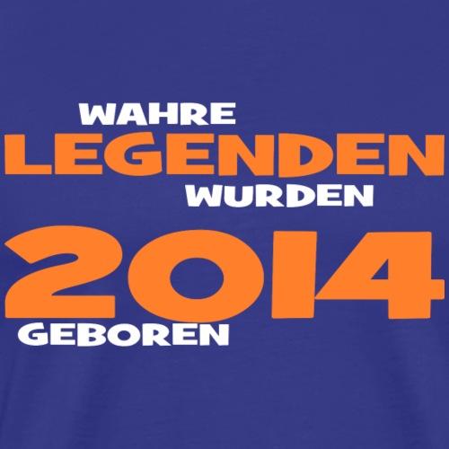 Wahre Legenden 2014 - Männer Premium T-Shirt