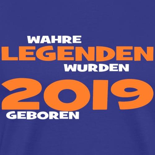 Wahre Legenden 2019 - Männer Premium T-Shirt