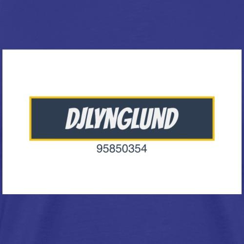 DJLynglund - Premium T-skjorte for menn